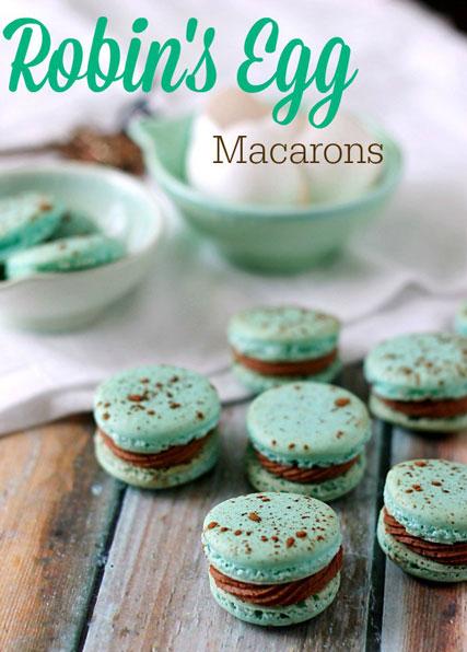 Robins-Egg-Macarons