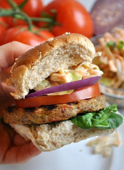 Veggie-Burgers-Bang-Bang-Slaw