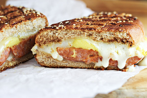 Spicy-Sausage-and-Mango-Grilled-Cheese