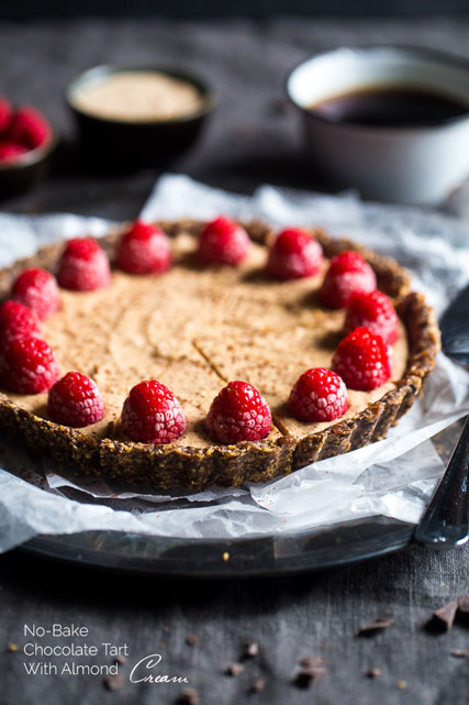 Almond-chocolate-tart