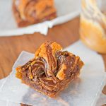 Chocolate Swirl Peanut Butter Bars