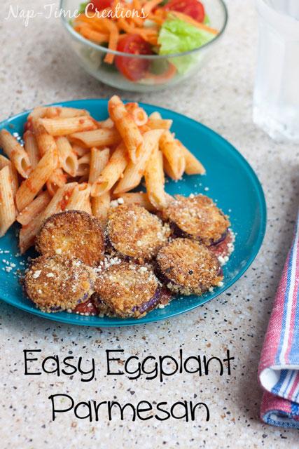 Easy-Eggplant-Parmesan