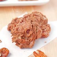 Sweeten your holiday and someone else's with these delicious Chocolate Pralines they are loaded with toasted pecans and rich chocolate flavor.