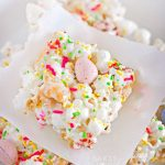 Easter Bunny Popcorn Bars