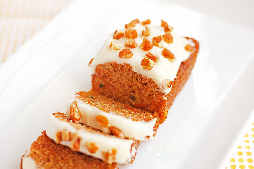 Mini Carrot Cake Loaves