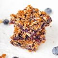 Blueberry White Chocolate Oat Bars