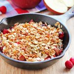 Cranberry Apple Crisp for One
