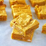 Pumpkin Blondies #PumpkinWeek