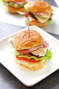 Club Sandwich Sliders