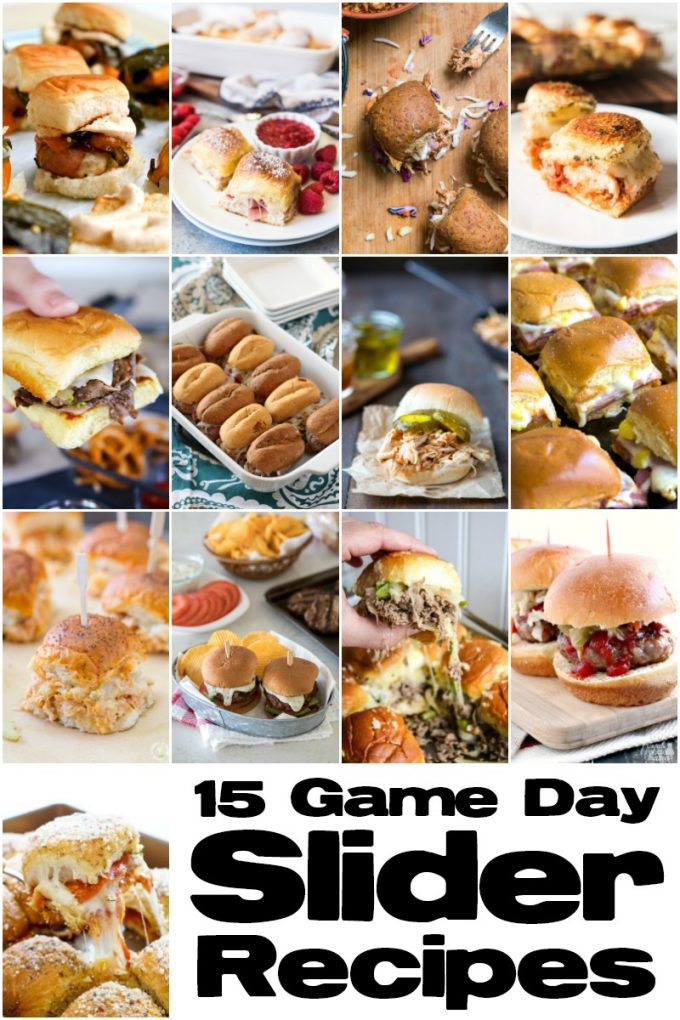 15 Game Day Sliders
