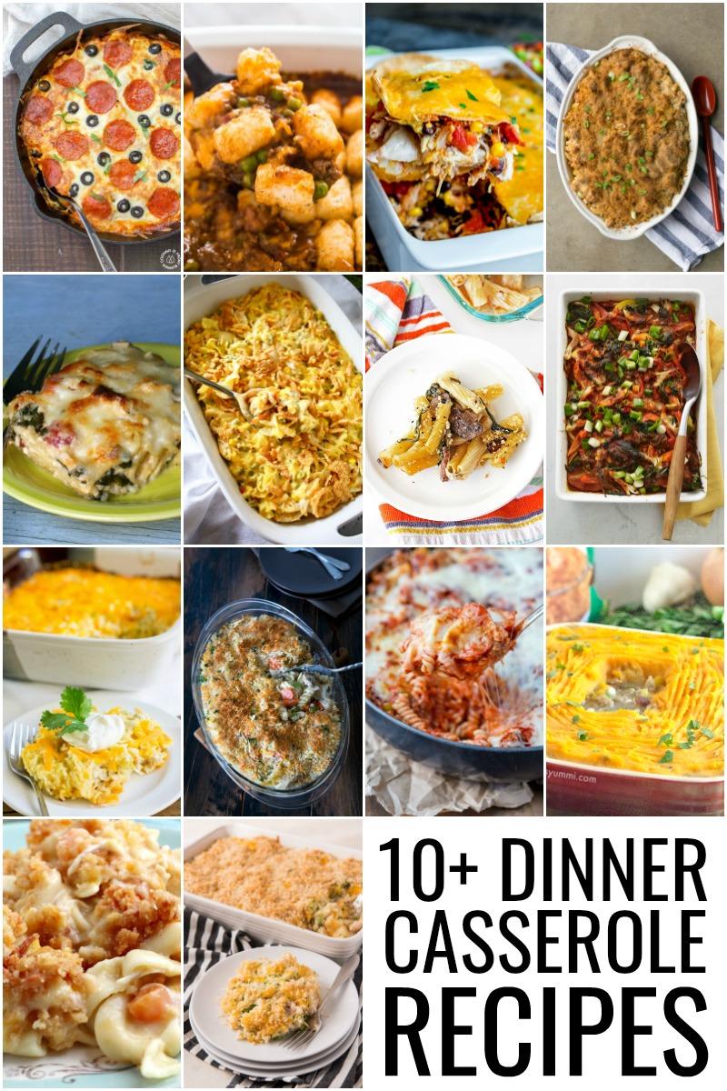 10+ Dinner Casseroles