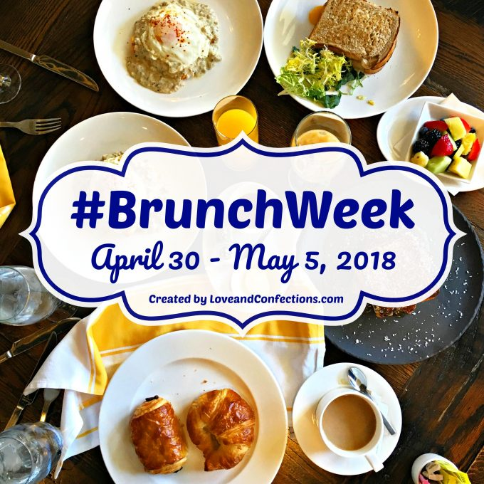 #BrunchWeek 2018 is a collection of over 150 recipes perfect fro your next brunch celebration!
