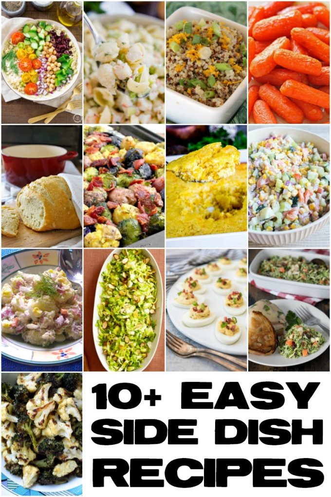 10+ Easy Side Dish Recipes