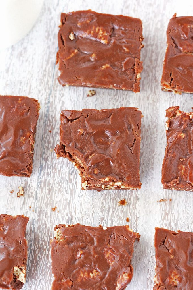 Easy No Bake Brownies