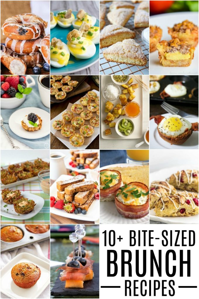 Bite Sized Brunch recipes for your best morning yet!