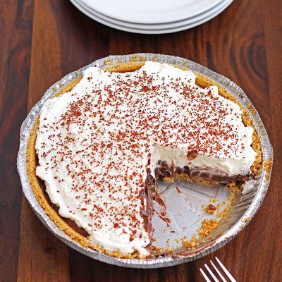 No Bake S'mores Pie