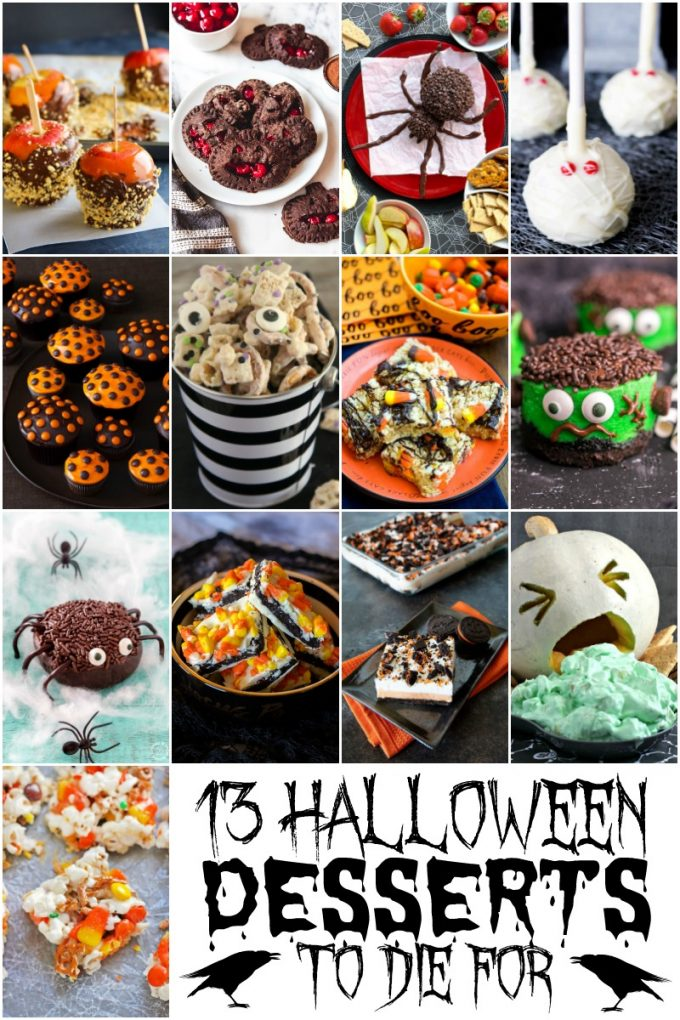 13 Frightenly Good Halloween Desserts