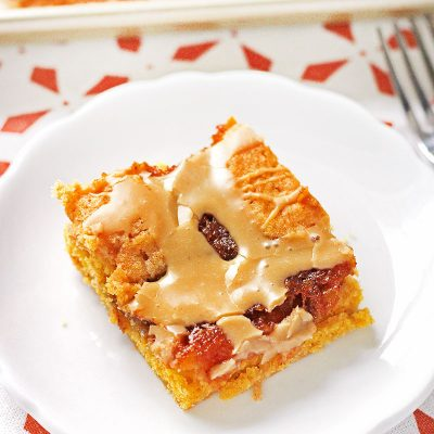 Pumpkin Coffee Cake slice