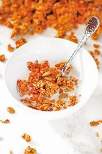 Pumpkin Granola #PumpkinWeek