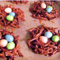 Easter Egg Bird Nests | It Bakes Me Happy