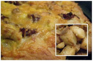 Breakfast pizza is a quick and easy meal no matter what time of day you choose to make it!