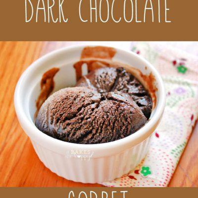Dark Chocolate Sorbet