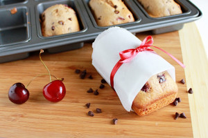 Bursting with fresh cherries and miniature chocolate chips, this chocolate cherry loaf is a sweet way to start your day.