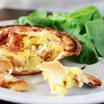 Ham & Potato Quiche
