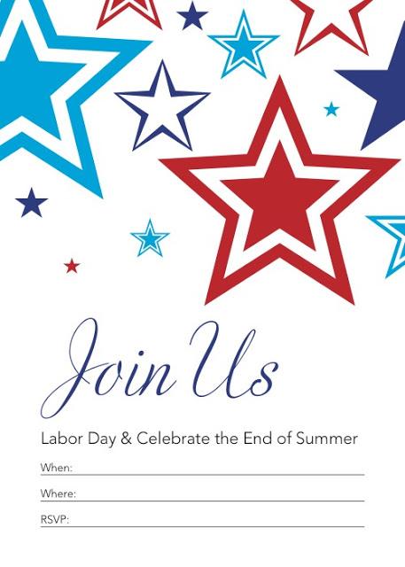 Labor Day Invite