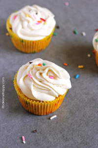Classic Funfetti Cupcakes | It Bakes Me Happy