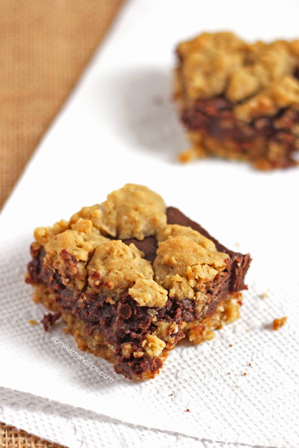 Chocolate Peanut Butter Revel Bars