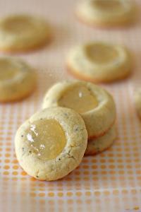 Lemon Poppy Seed Thumbprints | It Bakes Me Happy