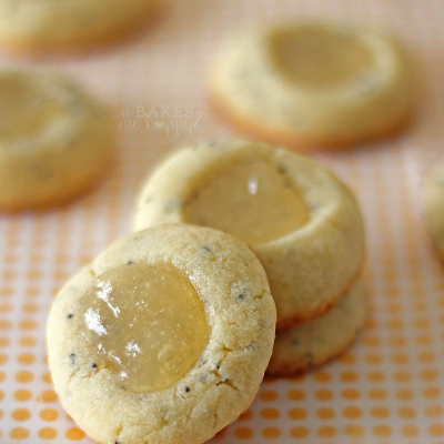 Lemon Poppy Seed Thumbprints