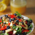 Honey Lime Vinaigrette + Apple Berry Pecan Salad
