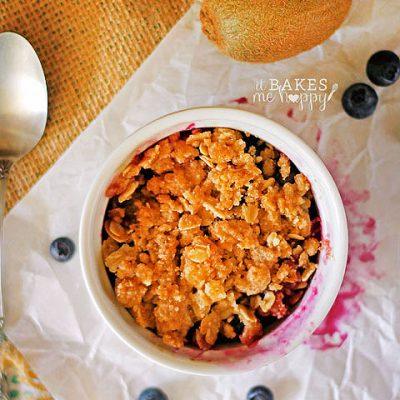 Blueberry Kiwi Crisp