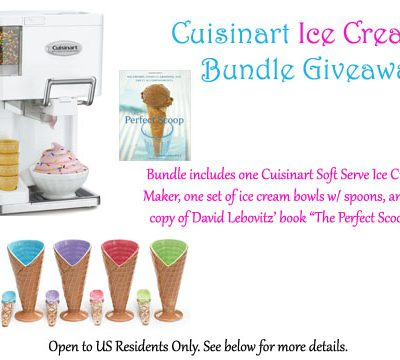 Summer Ice Cream Making Giveaway