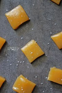 Vanilla Bean Sea Salt Caramels | It Bakes Me Happy