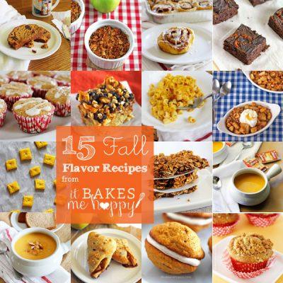15 Fall Flavor Recipes