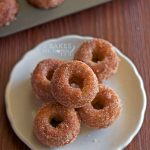 Apple Cider Mini Donuts