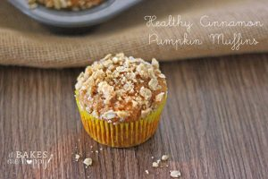 Healthy Cinnamon Pumpkin Muffin
