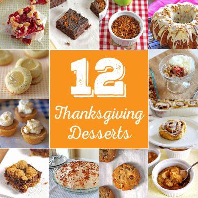12 Thanksgiving Dessert Alternatives to Pumpkin Pie