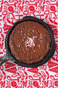 Peppermint Crunch Brownies