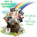 Enter to win 15 awesome cookbooks in this Pot 'O Cookbooks Giveaway!