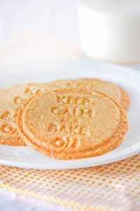 Crisp, delicious Butter Cookies are lightly sweet snack that make a great afternoon treat and they are perfect as snickerdoodle cookies too!