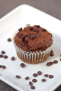 Make breakfast great with these soft, rich Chocolate Pumpkin Muffins loaded with double chocolate and pumpkin.