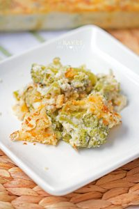 Broccoli and cheese are the stars of this Broccoli Cheese Casserole a comforting side dish perfect for the holiday season.