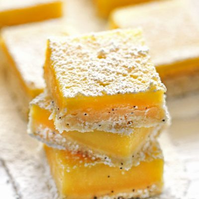 Lemon Poppy Seed Bars
