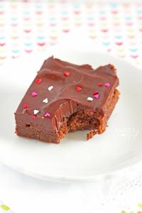 Ganache Brownies