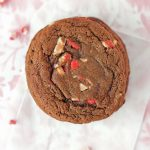 Chocolate Peppermint Crunch Cookies