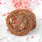 Chocolate Peppermint Crunch Cookies horiz